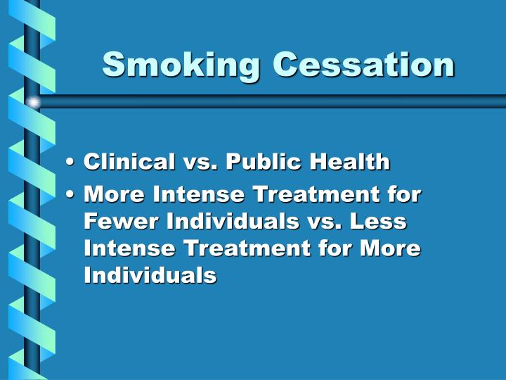 Smoking cessation2