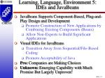 learning language environment 5 ides and javabeans25