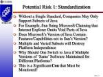 potential risk 1 standardization8