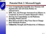 potential risk 2 microsoft apple10