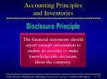 accounting principles and inventories39