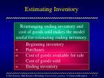 estimating inventory51
