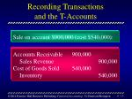 recording transactions and the t accounts15