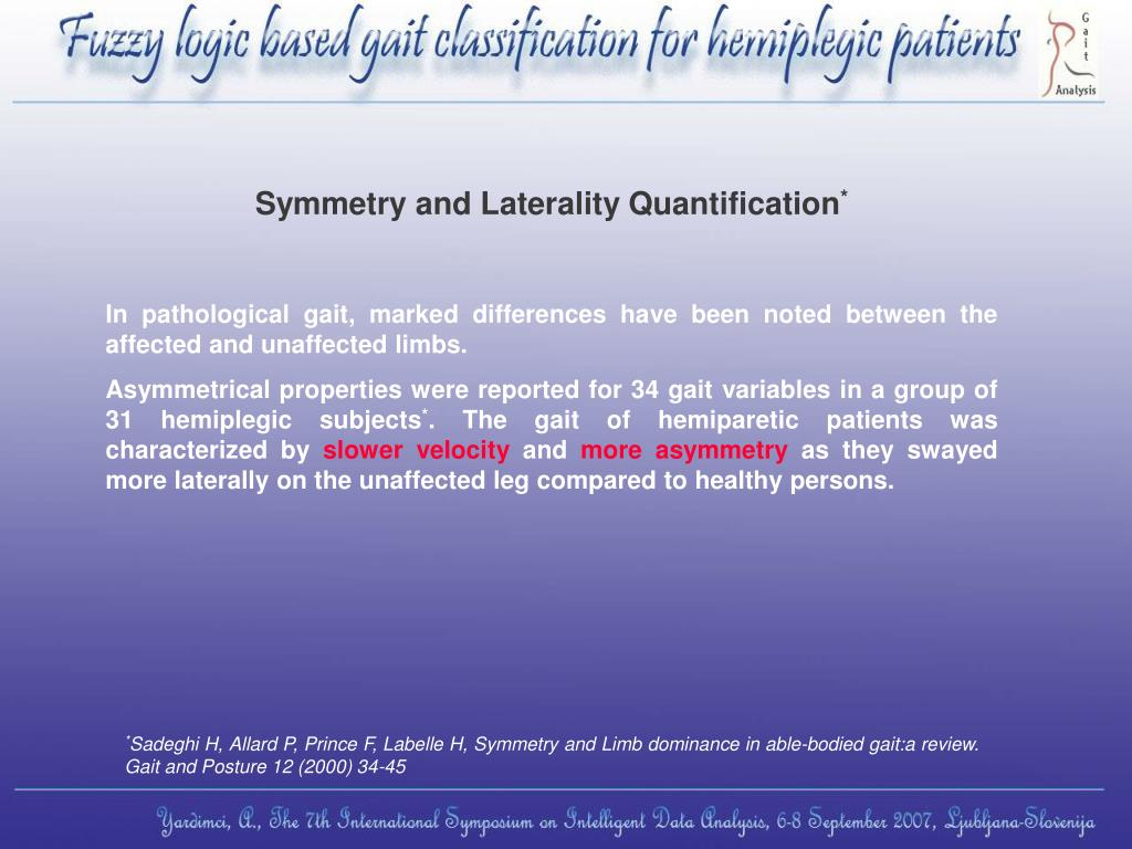 Symmetry and Laterality Quantification