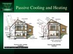 passive cooling and heating