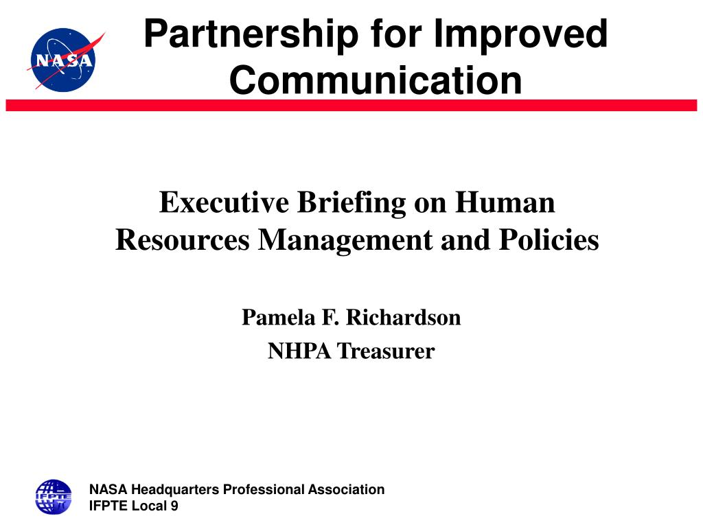 executive briefing on human resources management and policies l.