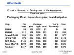 other costs