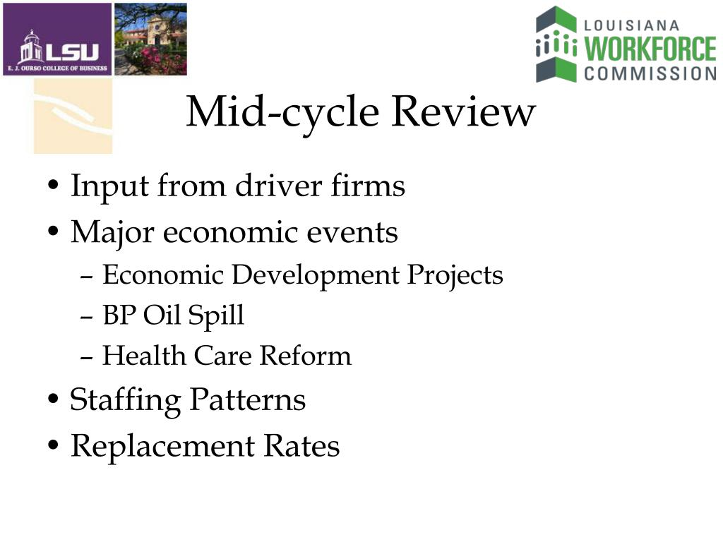 Mid-cycle Review