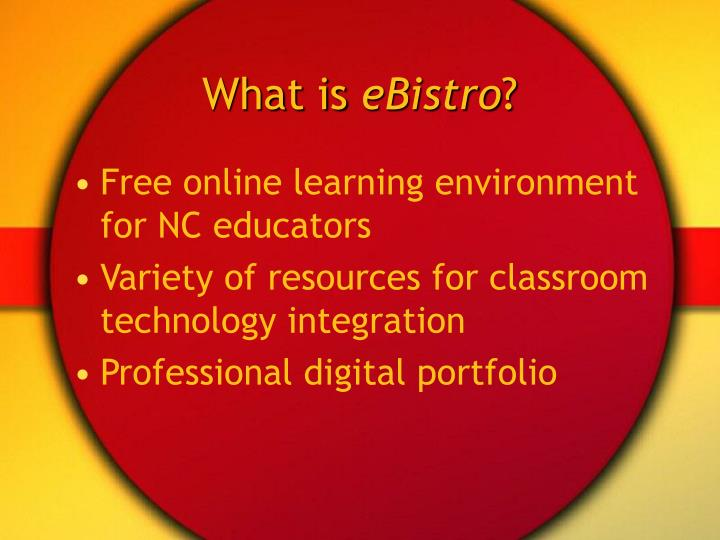 What is ebistro