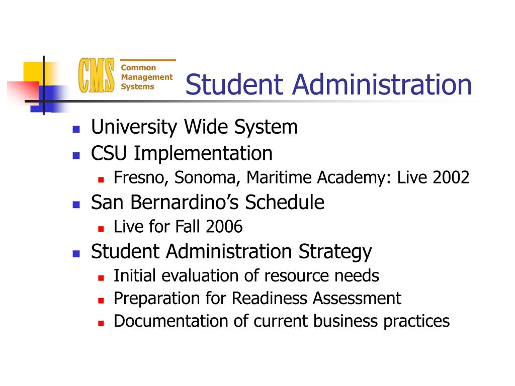Student Administration