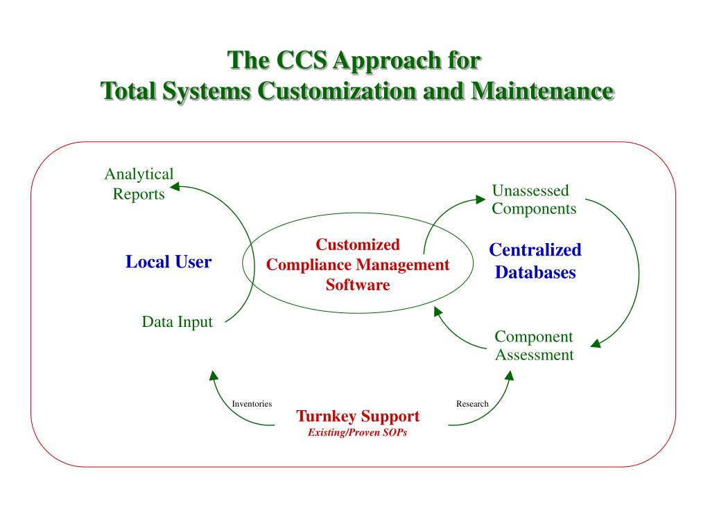 The CCS Approach for