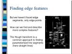 finding edge features