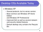 desktop oss available today49