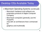 desktop oss available today51