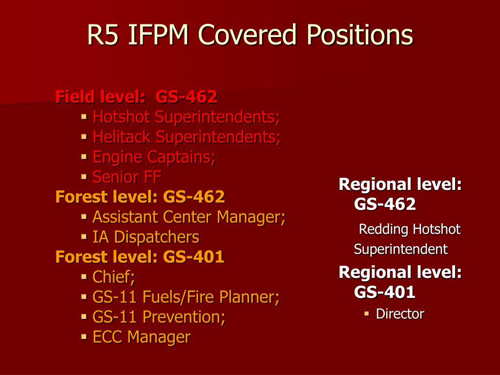 Field level:  GS-462
