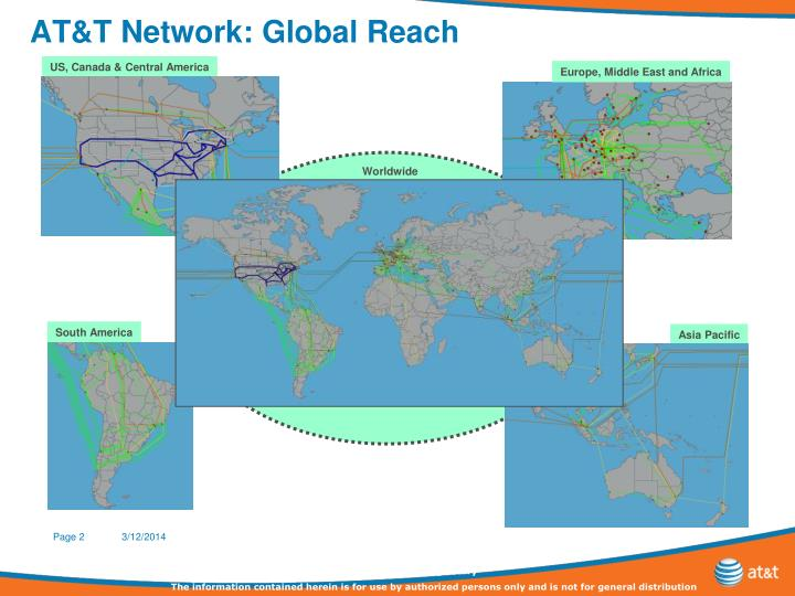 At t network global reach