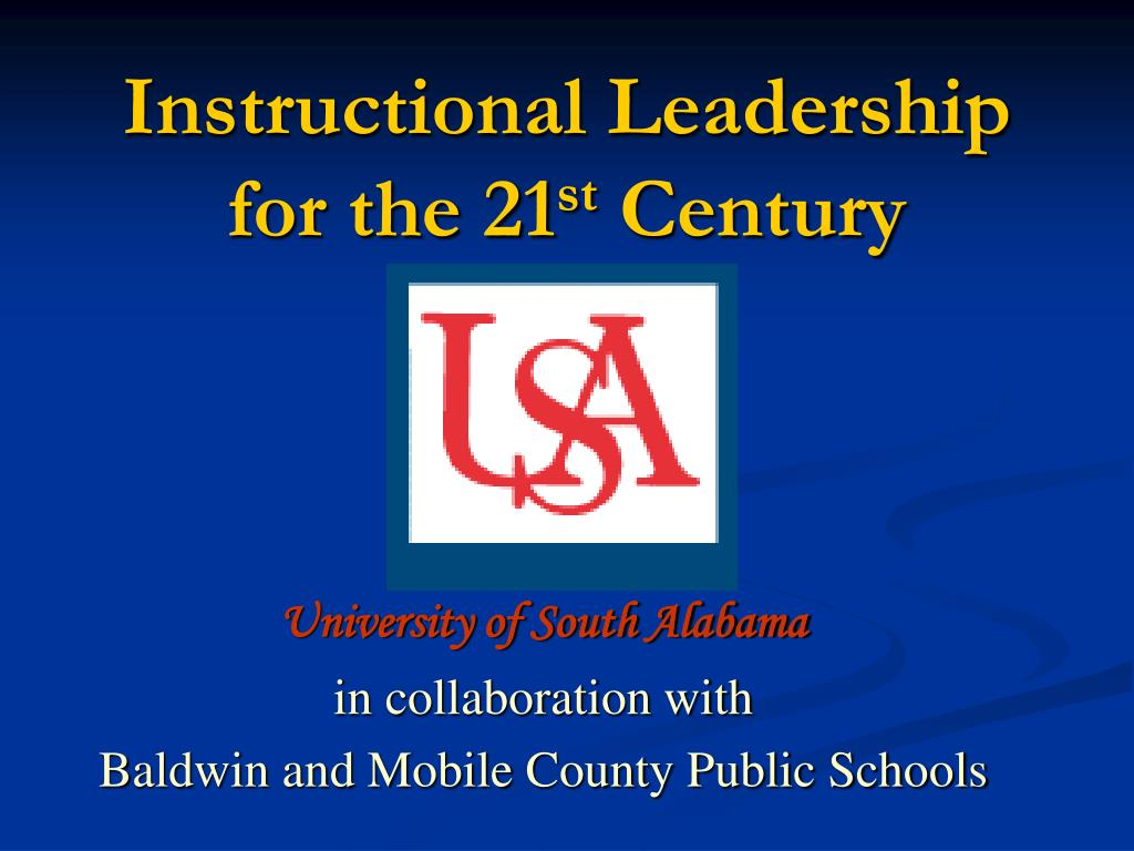 instructional leadership for the 21 st century l.