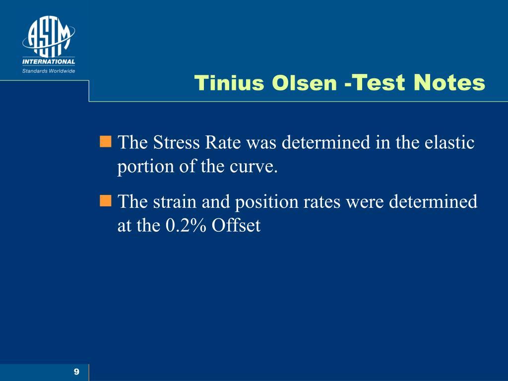 Tinius Olsen -