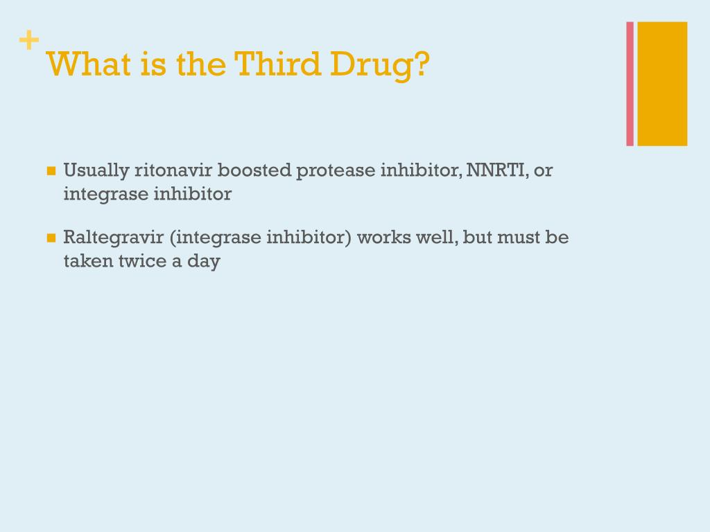What is the Third Drug?