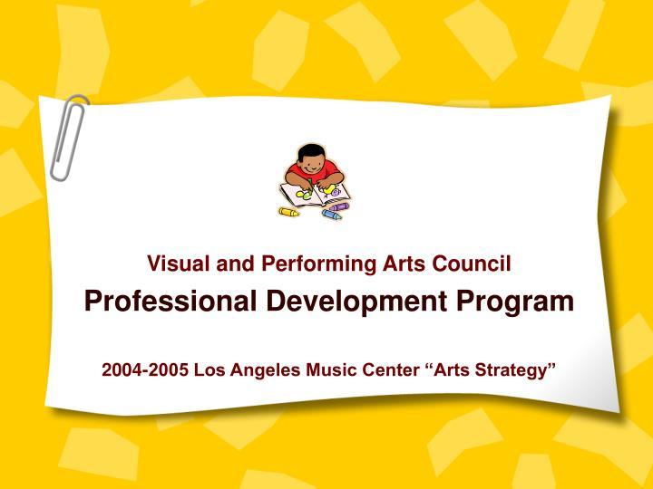 Visual and Performing Arts Council