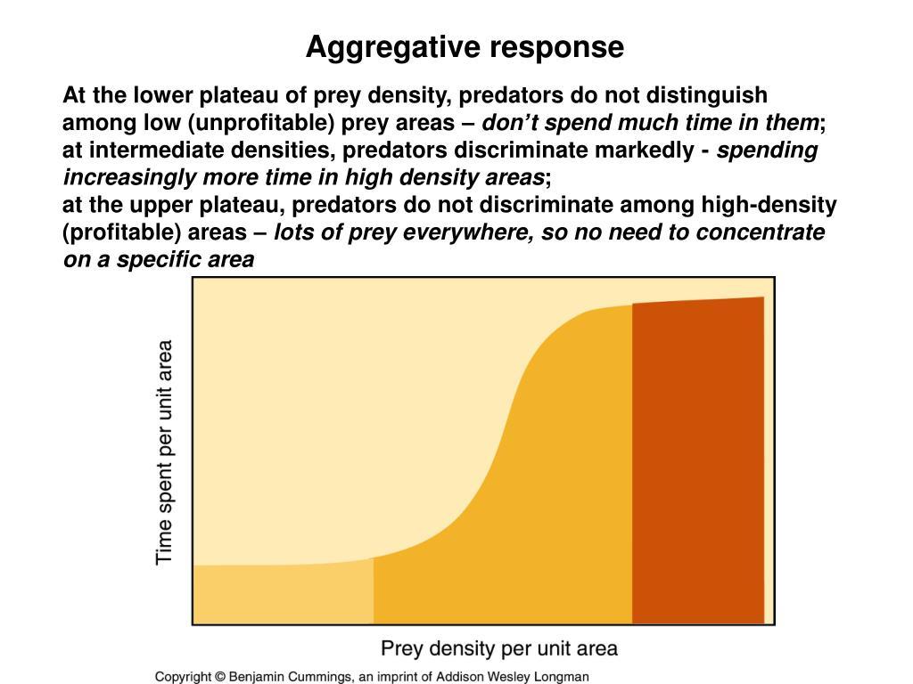 Aggregative response