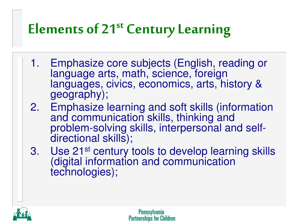 Elements of 21