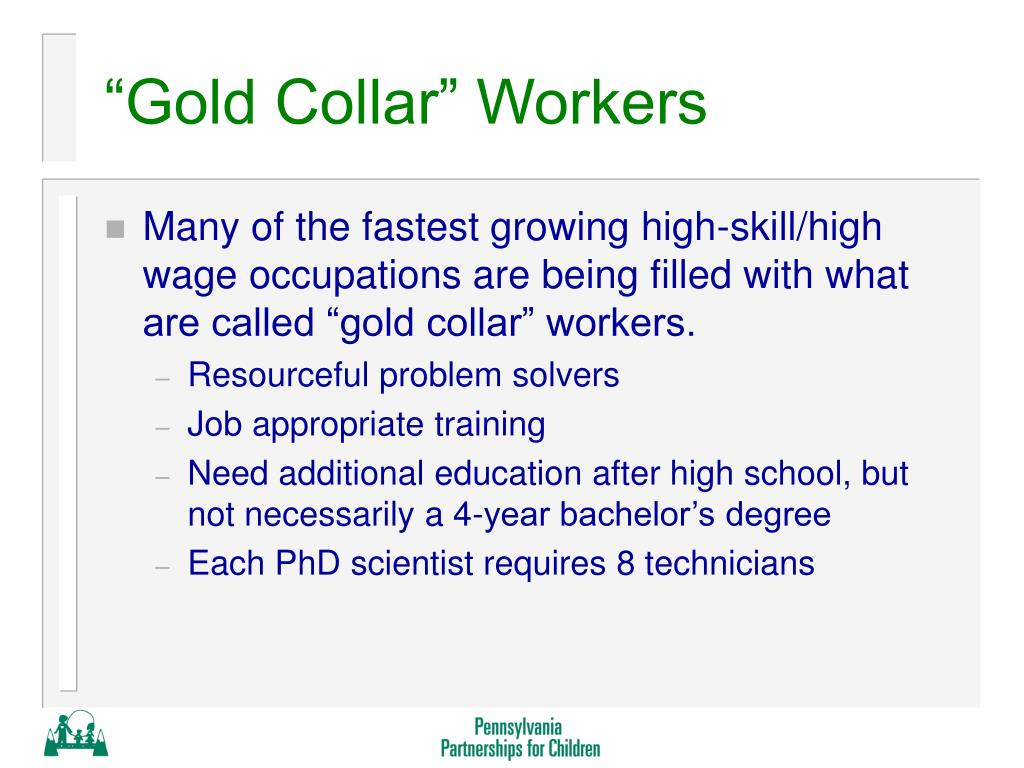 """""""Gold Collar"""" Workers"""
