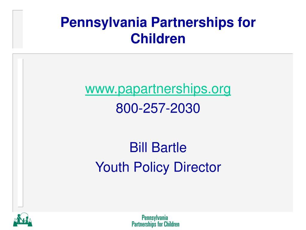 Pennsylvania Partnerships for Children