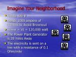 imagine your neighborhood