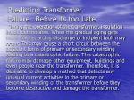 predicting transformer failure before its too late
