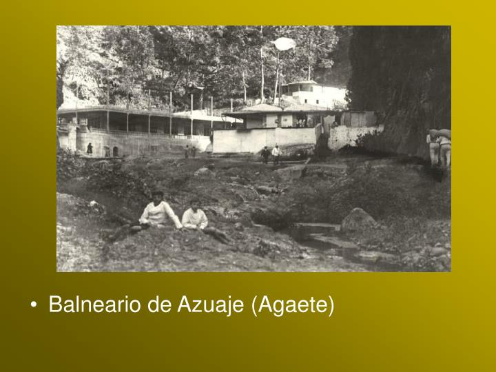 Balneario de Azuaje (Agaete)