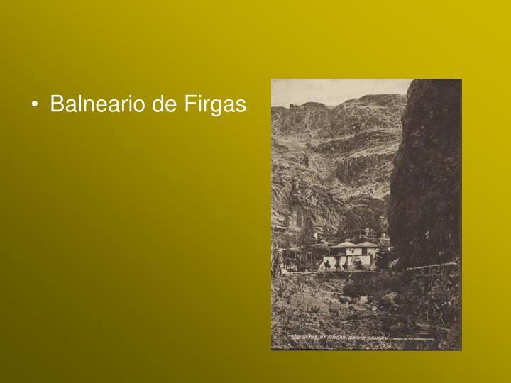 Balneario de Firgas