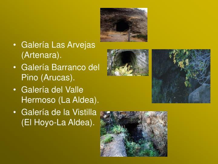 Galería Las Arvejas (Artenara).