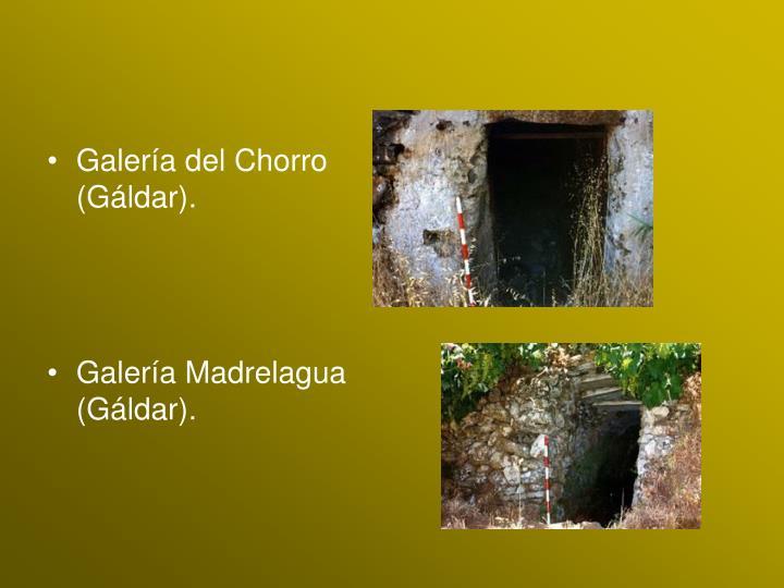 Galería del Chorro (Gáldar).
