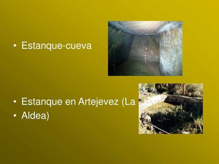 Estanque-cueva