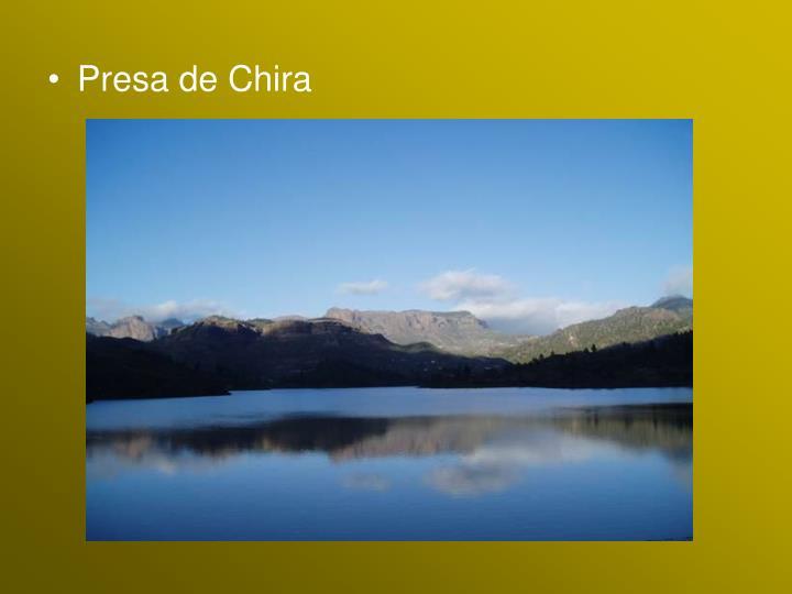 Presa de Chira