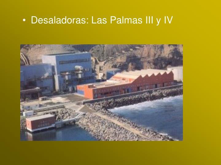 Desaladoras: Las Palmas III y IV