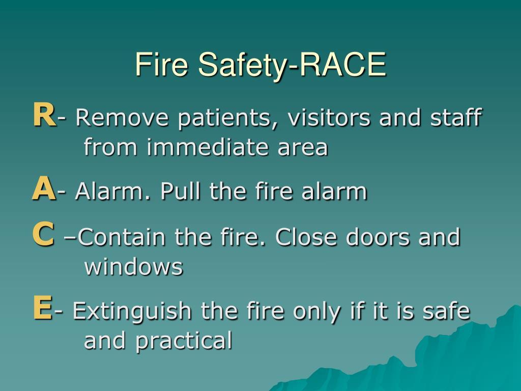 Fire Safety-RACE