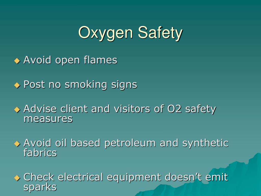 Oxygen Safety