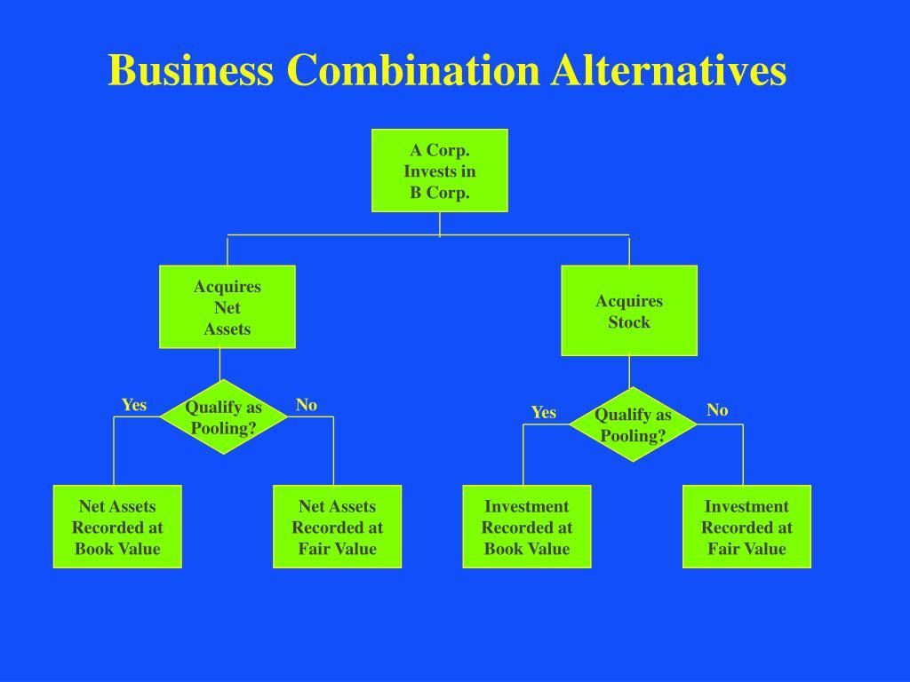 Business Combination Alternatives
