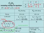 c 2 h 4 including overlap 4e repulsion