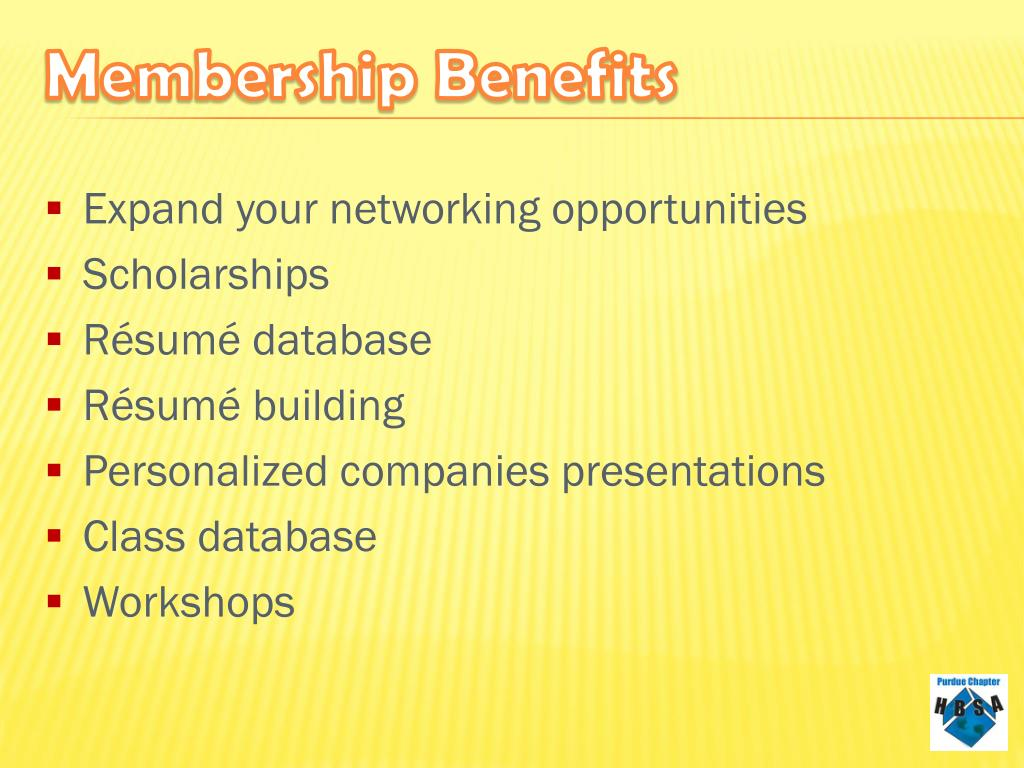 Expand your networking opportunities