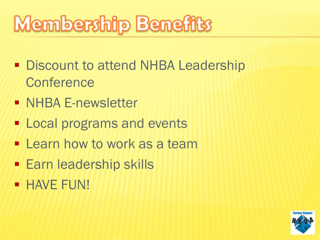Discount to attend NHBA Leadership     Conference