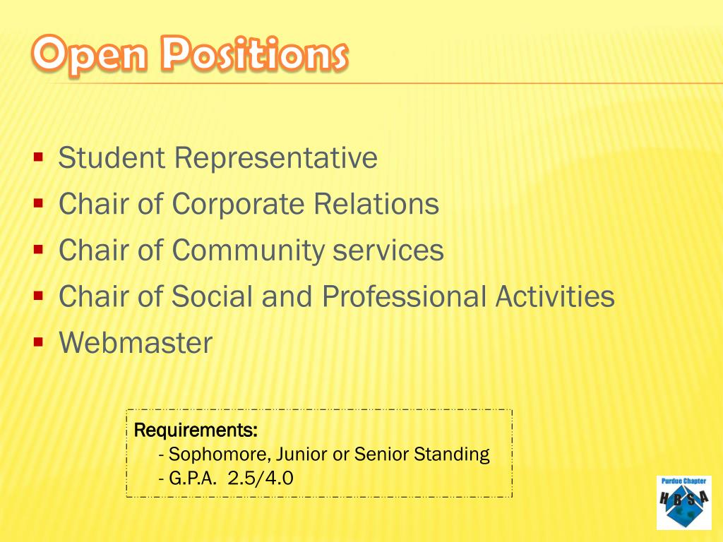 Student Representative