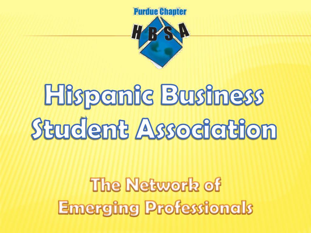 Hispanic Business Student Association