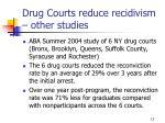 drug courts reduce recidivism other studies13