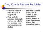 drug courts reduce recidivism5
