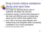 drug courts reduce substance abuse and save lives24