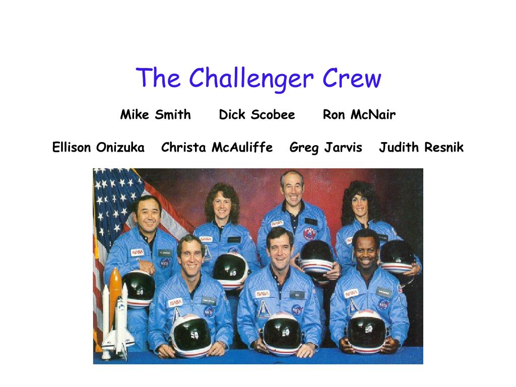 The Challenger Crew