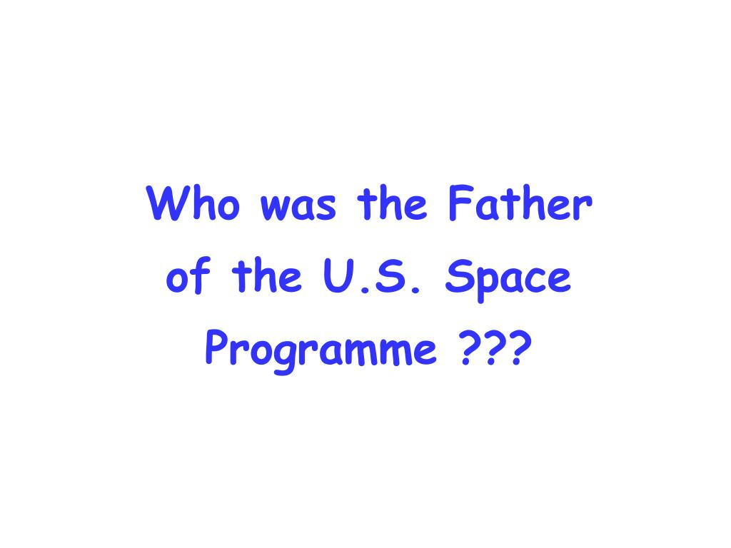 Who was the Father
